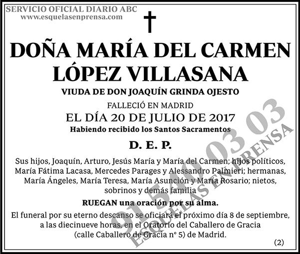 María del Carmen López Villasana